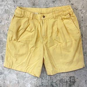 Vintage Savane | Men's Yellow Shorts